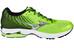 Mizuno Wave Rider 19 Running Shoes Men green gecko/silver/black